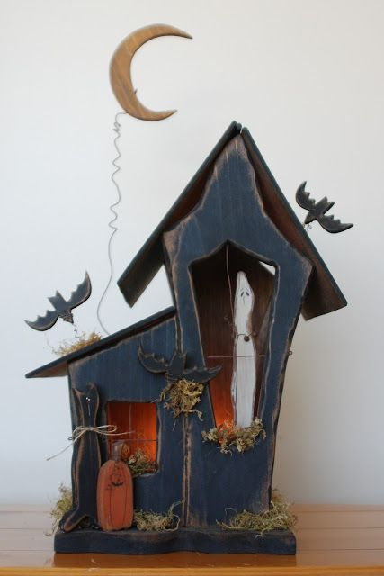 Wasatch Wood Crafts: Haunted House