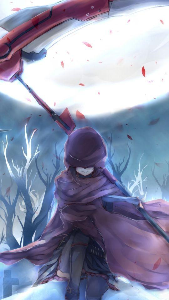 25 best ideas about rwby scythe on pinterest rwby rose - Anime scythe wallpaper ...