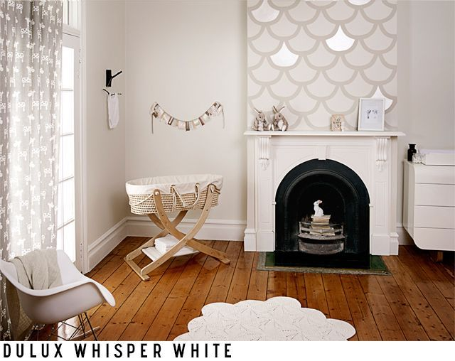 This is dulux 'whisper white'. We've used this on our walls with dulux 'vivid white' trims