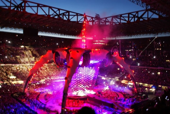 "U2 ""360° Tour"", San Siro di Milano #ontour2009 #ontour #u2"