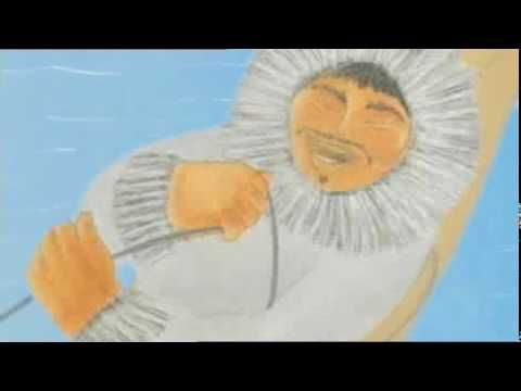Animation of the Inuit 'Skeleton Woman' story. The story about the darker side of love that must be overcome (learning of someone's 'Skeleton') for there to be a lasting relationship.  Clarissa Pinkola Estes tells it really beautifully in her book 'The Women Who Run With Wolves.'