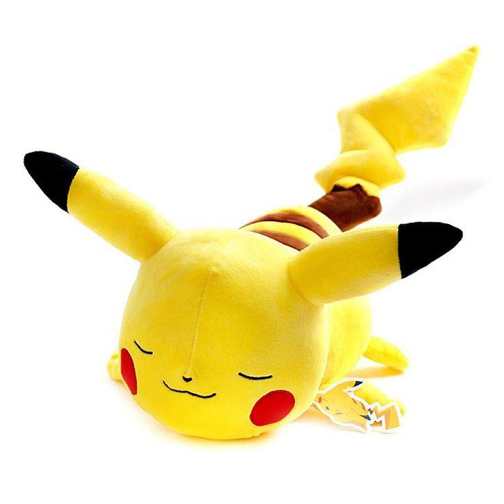 Pokemon XY Character lie Pikachu Plush Doll 50cm 20inch #Pokemon