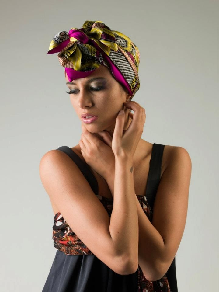 CUT FROM A DIFFERENT CLOTH — Eki Orleans Scarves Purchase these and more...
