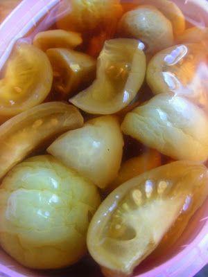 Herkkusuun lautasella-Ruokablogi: Vihreä tomaattichutney