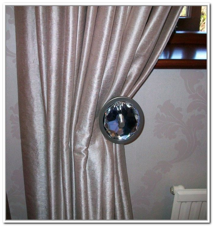curtain holdback set ~ decorate the house with beautiful curtains