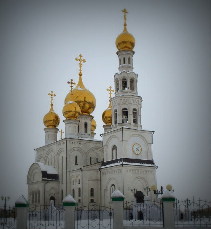 Russia Map Airports%0A Transfiguration Cathedral in Abakan  Russia