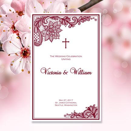 The 25+ best Catholic wedding programs ideas on Pinterest - church program
