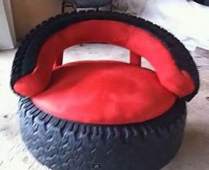 Best 25 tire seats ideas on pinterest tyre seat tire for How to make tire furniture