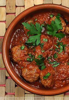 Rezept mit Bild für Albondigas - spanische Fleischbällchen