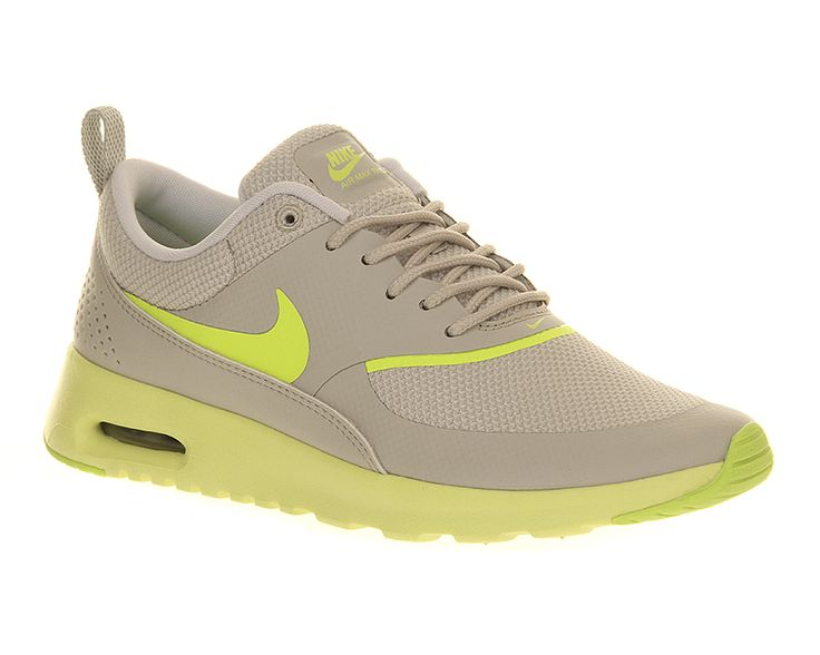 Nike Air Max Thea Light Bone Volt - Hers trainers