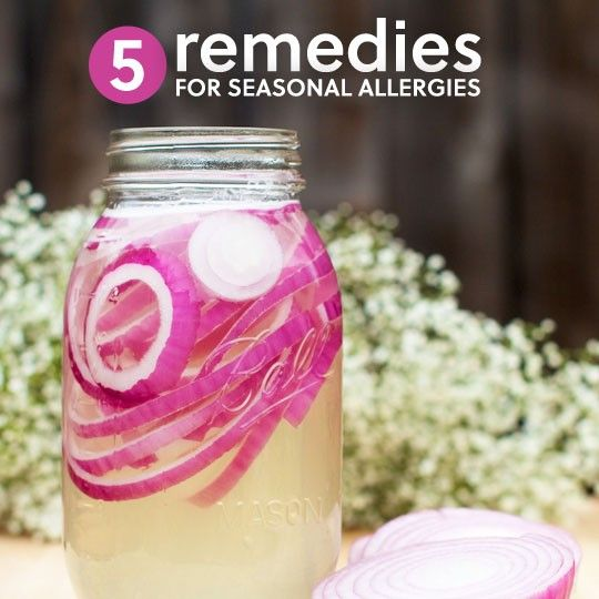 5 Home Remedies for Seasonal Allergies (Beyond Local Honey) http://herbsandoilshub.com/5-home-remedies-for-seasonal-allergies-beyond-local-honey/  If you've tried allergy remedies based on local raw honey and they haven't helped you, check out these 5 different remedies by Claire.  They're all easy to make.