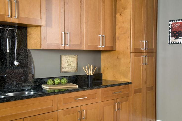 honey colored kitchen cabinets | WHOLESALE SPICE ALL WOOD MAPLE CABINETS FULL OVERLAY DOORS | Rock ...