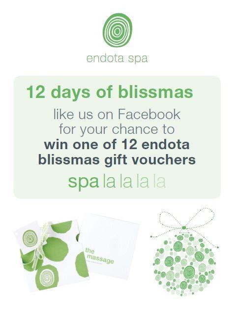Merry Blissmas from endota spa gymea!
