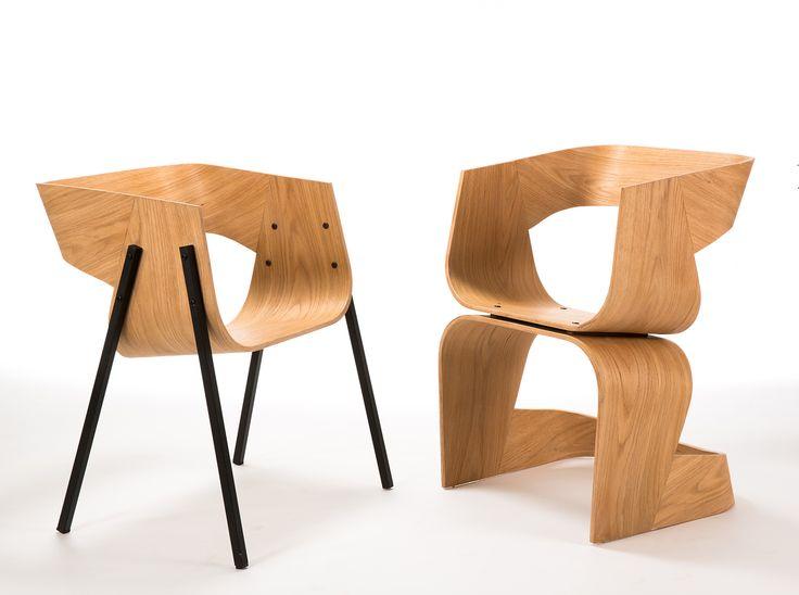 Tolle designer stuhl holz