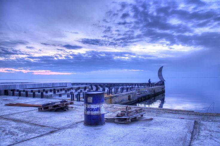 Κάποτε στην ανάπλαση της νέας παραλίας - Φωτογραφία: Τίμος Χριστοφορίδης