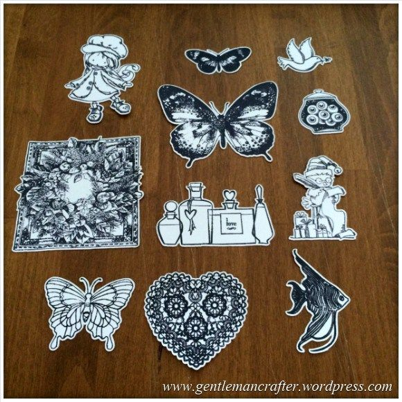 Cutting Hand Stamped Images Using Direct Cut On The Brother Scan N Cut - 1
