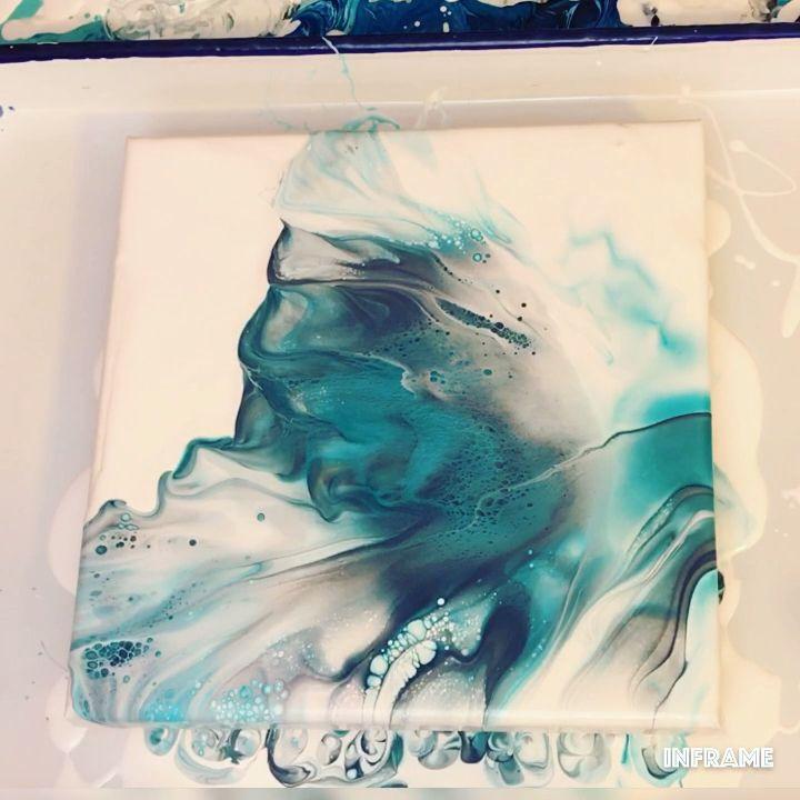 Fluid Acrylic Painting Video – Dutch Pour