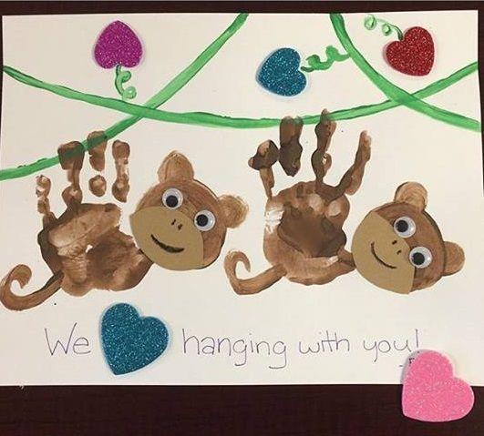 17 best Monkey craft ideas images on Pinterest | Art activities, Art ...