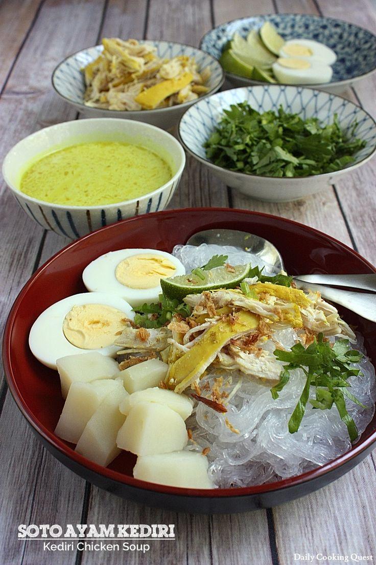 Soto Ayam Kediri - Kediri Chicken Soup