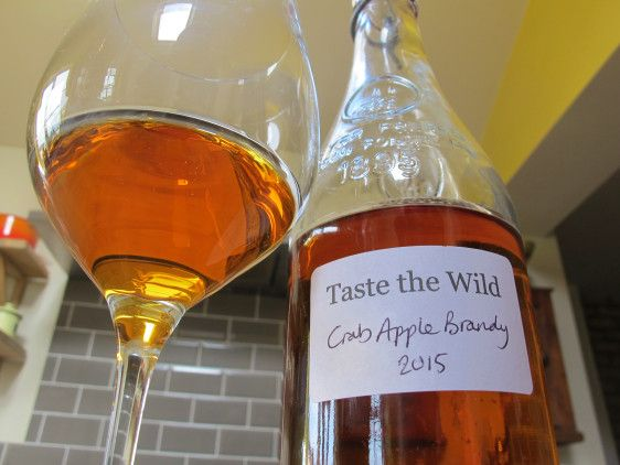 crab apple brandy to drink - follow image link to recipe