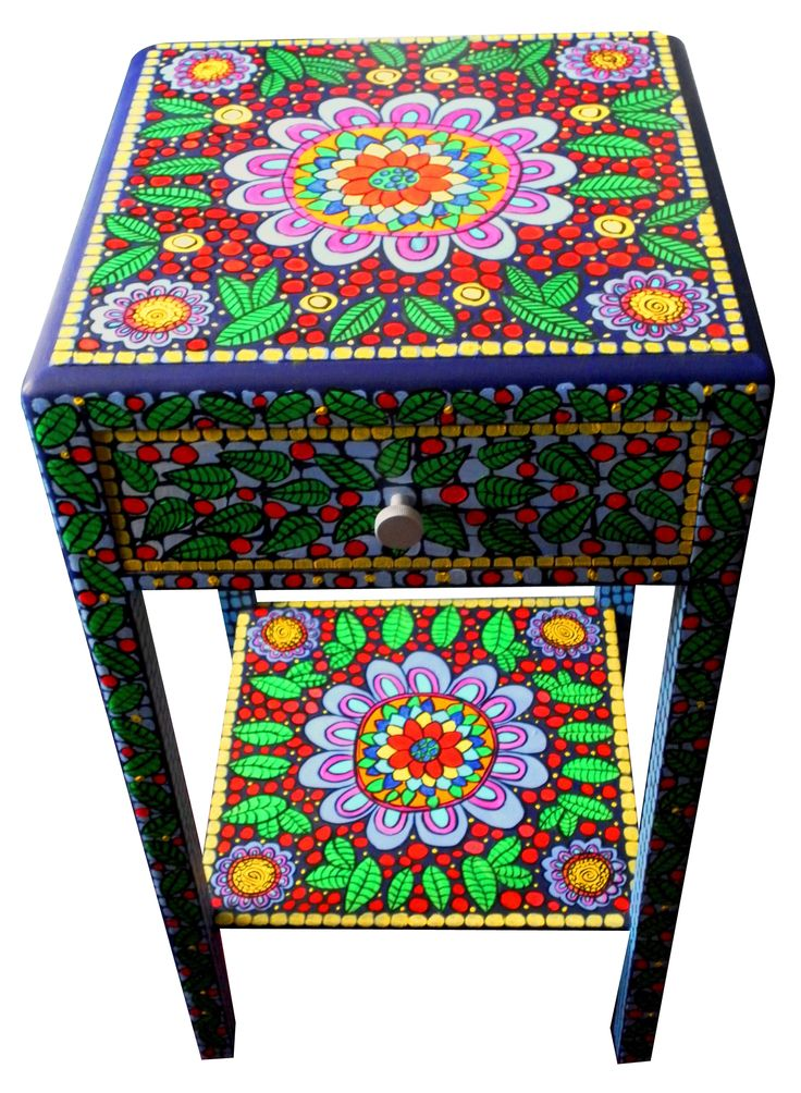 752 best images about painted chair table dresser for Hand painted furniture ideas