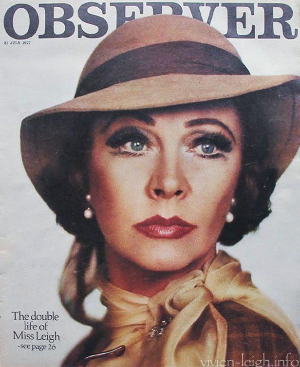 Вивьен Ли на обложках журналов