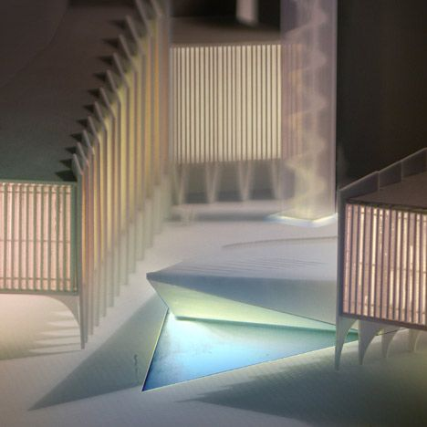 The Vanishing Mosque by RUX Design- Architectural Model