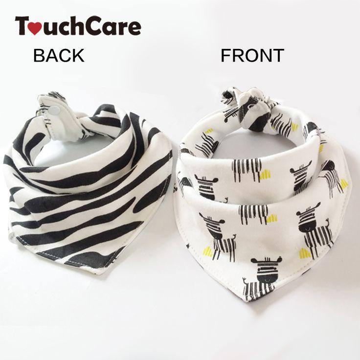 Niemowlę Śliniaki Bawełniane Cute Cartoon Zwierząt Zebra Czkawka Noworodka Miękkie Wodoodporna Karmienia Trójkąta Szalik Ręcznik Dziecko Maluch Ubrania