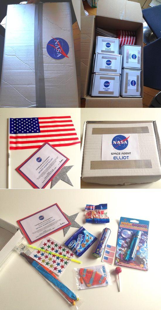 Fête d'anniversaire pour astronaute de 5 ans                                                                                                                                                                                 Plus