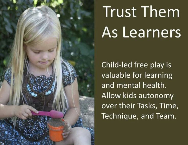 philosophy that children learn through play According to the montessori preschool education philosophy, kids don't need to   children engage in play-based learning and reinforce their.