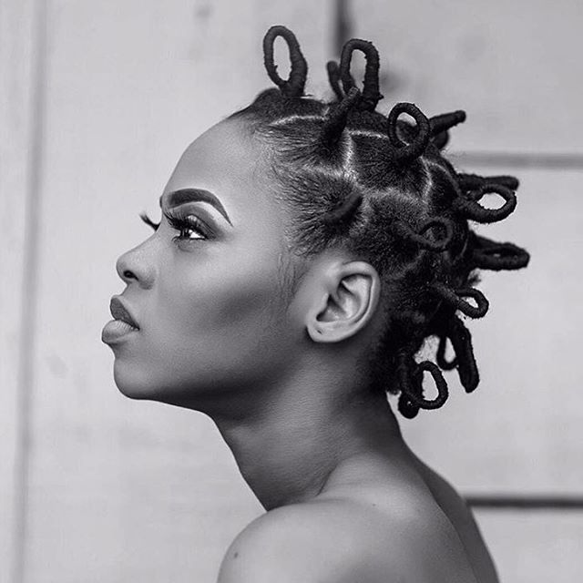 Simply gorgeous @chidinmaekile  We love this African threading look on you |#obianaturalhair #naturalhair #obia