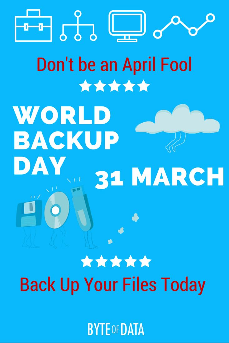 World Backup Day – Back Up Your Data Today!