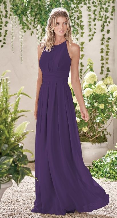 Featured Bridesmaid Dress: B2 of Jasmine Bridal; Bridesmaid dress idea.