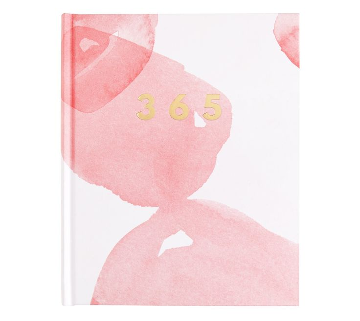 This 365 Days Journal has been designed to start at any day of the year, with space for your thoughts, ideas and dreams each day.
