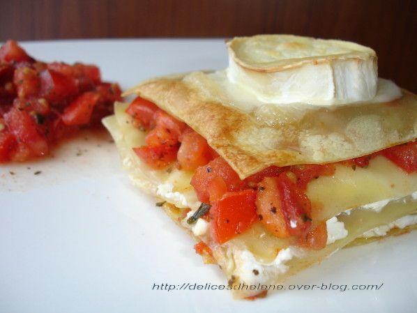lasagnes tomates confites chèvre (1)