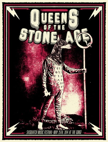 queens of the stone age back patch