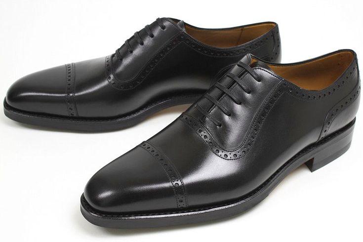 quarter brogue - buty z ażurem na szwach