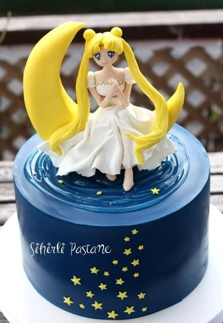 Sailor Moon Cake - Cake by Sihirli Pastane