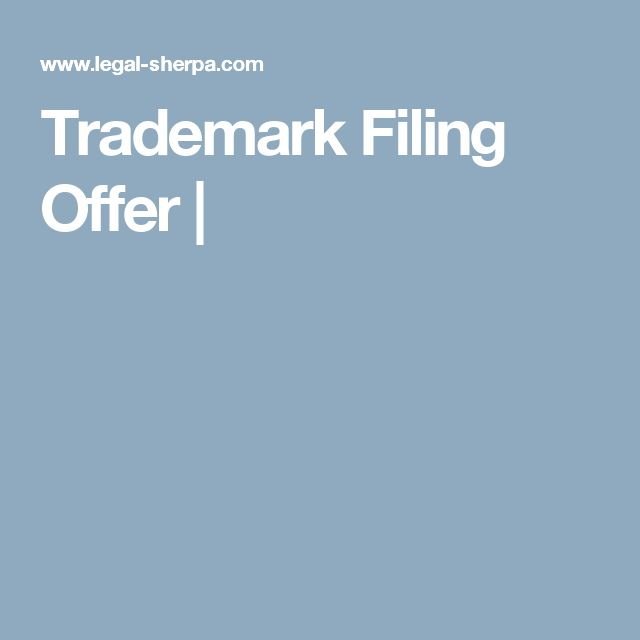 Trademark Filing Offer |