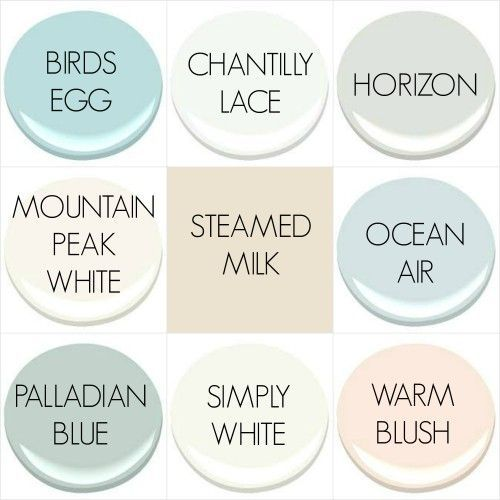 THE 2016 PAINT COLORS OF MY OLD COUNTRY HOUSE: