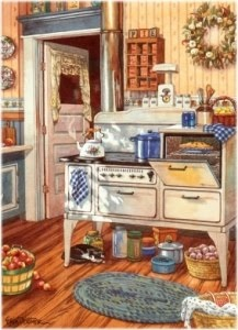 50 best Old Fashioned Kitchen images on Pinterest Antique stove