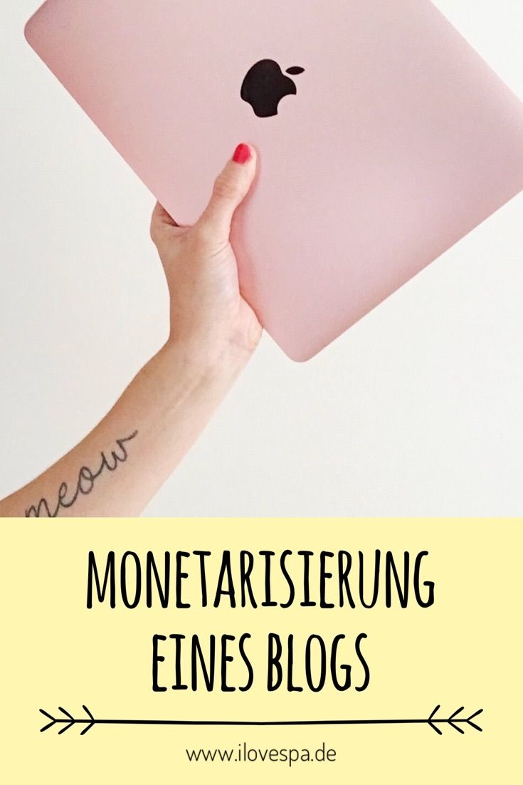Monetarisierung und Glaubwürdigkeit von Blogs -  Blog Monetarisierung