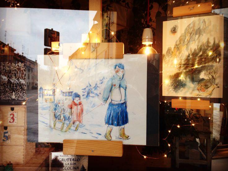 In vetrina : Piccola mostra di Marina Girardi