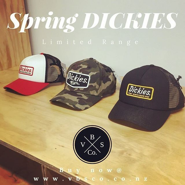 Oh did we mention the Dickies Spring order of tee's, hats and shorts turned up today! These hats are perfect for on your belt loop during a ride for after you take your helmet off. There are limited numbers available so get in quick! All online at www.vbsco.co.nz to view and purchase. If you are local and want to grab from us, use the code PICKUP to get no shipping charge #dickies #dickiespeople #itswhatwewear #workwear #skate #custommotorcycles #hotrods #workshoplife #hamiltonnz…