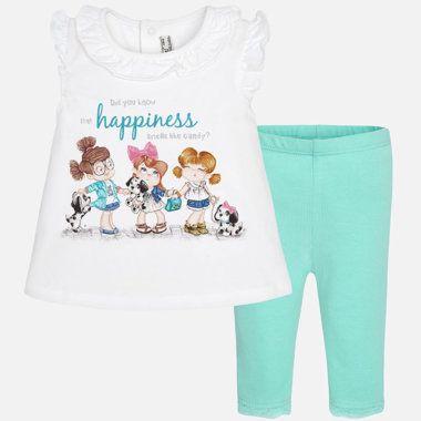 Dievčenský set tričko a legíny Mayoral - Jade