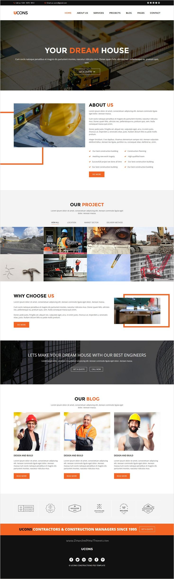 Ucons is a wonderful premium 2 in 1 #Bootstrap HTML5 template for #webdev #construction and building agencies perfect website download now➩ https://themeforest.net/item/gloria-ecommerce-bootstrap-template/18294529?ref=Datasata
