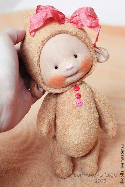Игрушки ручной работы: Ириска. Handmade.