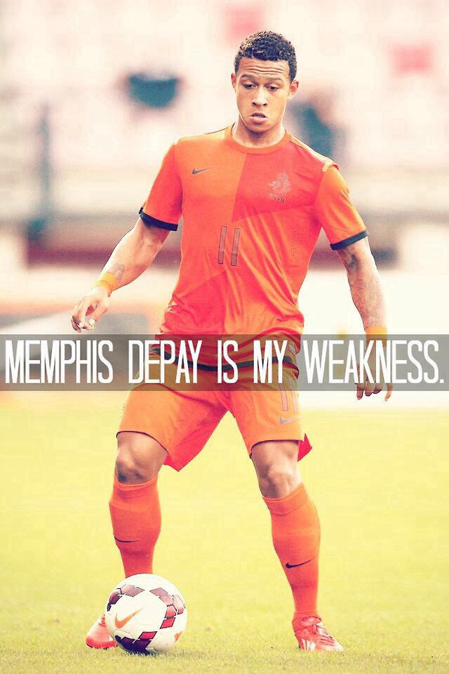 Memphis Depay is my weakness