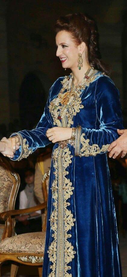 Caftan Velours - Princesse Lalla Salma du Maroc