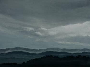 Winter Dawn 9.x.12 Acrylic